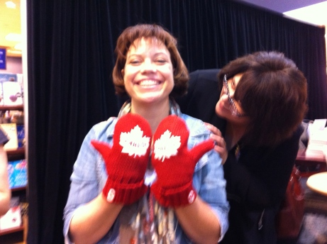 RCM with Canada mittens