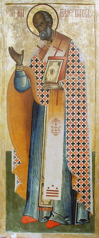 Saint Nicholas from a 11th Century Icon