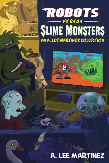 Robots versus Slime Monsters Cover