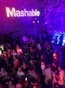 The Mashable #MashBash (which was amazing, and also, Elijah Wood was the DJ)