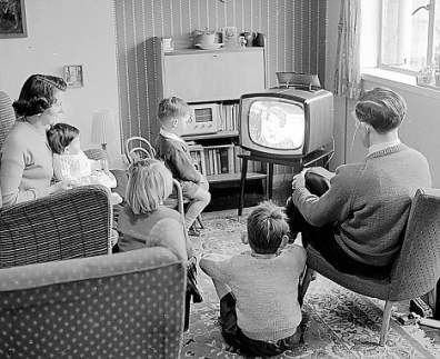 Vintage TV Watching