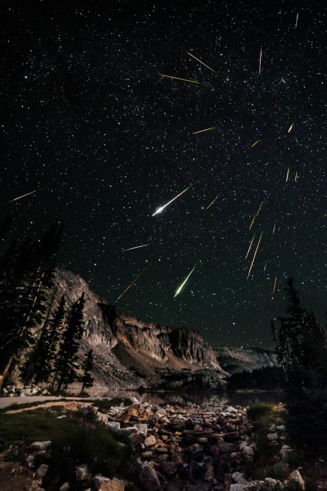Perseids Meteor Shower Photo by David Kingham, used under CC license