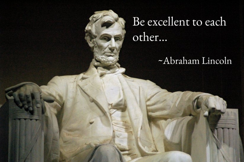 Abe-excellent to each other